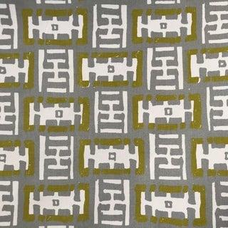 Mr. Rowe - Grass Fog Fabric by Ferrick Mason - 13.5 Yards For Sale