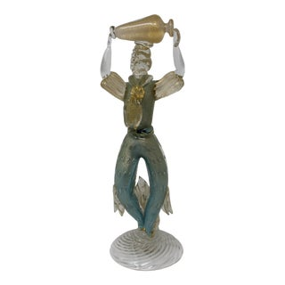 1950s Murano Glass Figurine For Sale