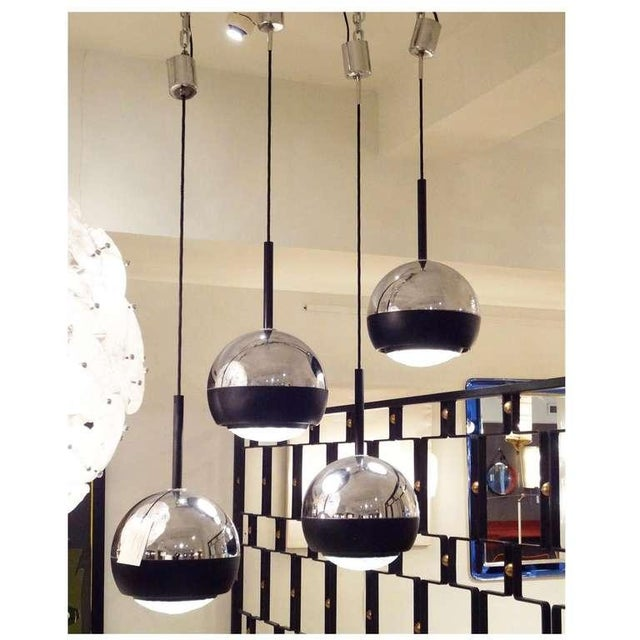 Stilnovo Set of Four Hanging Lamps Italy circa 1965 - Image 5 of 5