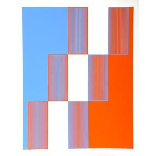 Richard Anuszkiewicz, Celebrate New York, Print For Sale