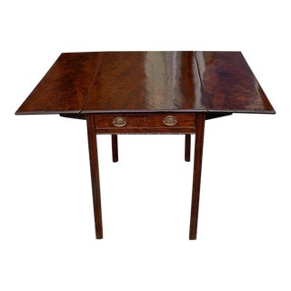 18th C. Chippendale Drop Leaf Table For Sale