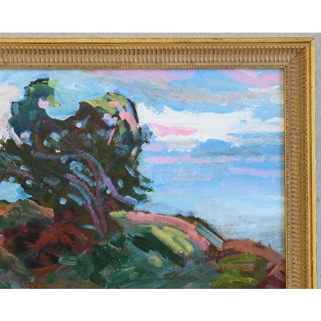 Juan Guzman Santa Barbara Coast Seascape Landscape Oil Painting For Sale In Los Angeles - Image 6 of 9