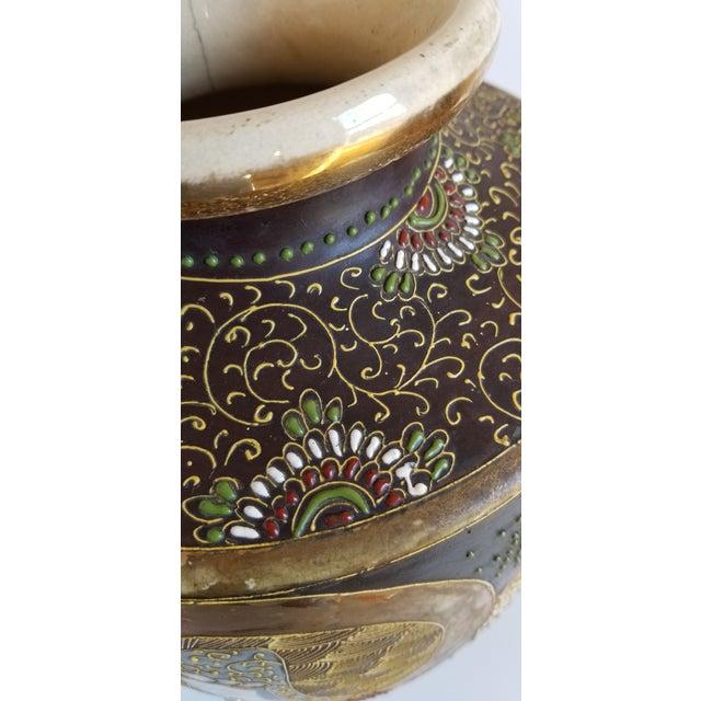 Early 20th Century Satsuma Century Japanese Vase For Sale - Image 10 of 13