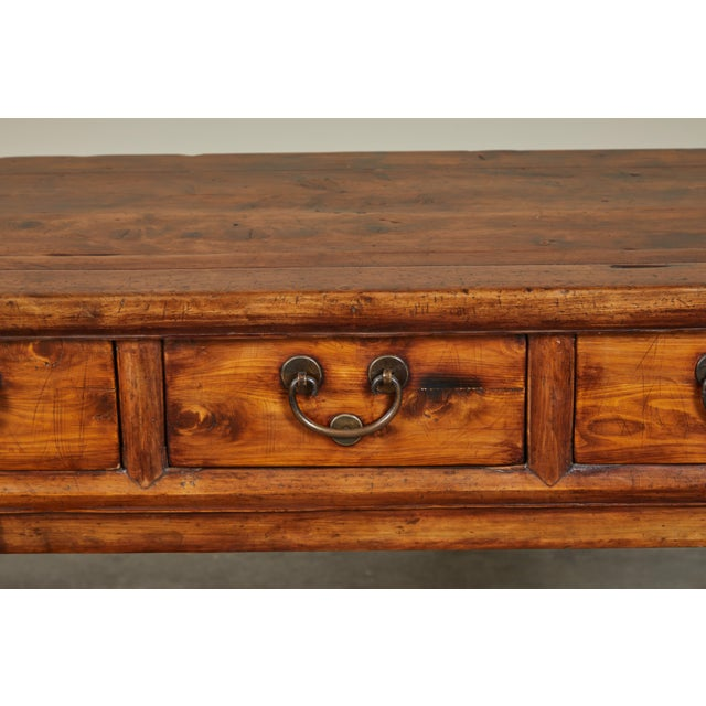 18th Century Antique Chinese Three Drawer Sideboard For Sale - Image 9 of 13