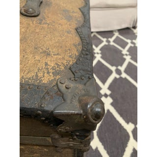 19th Century Antique Travelers Trunk Preview