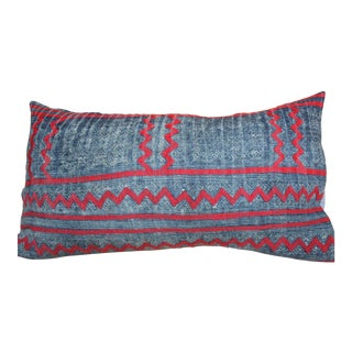 Vintage Hmong Textile Pillow For Sale