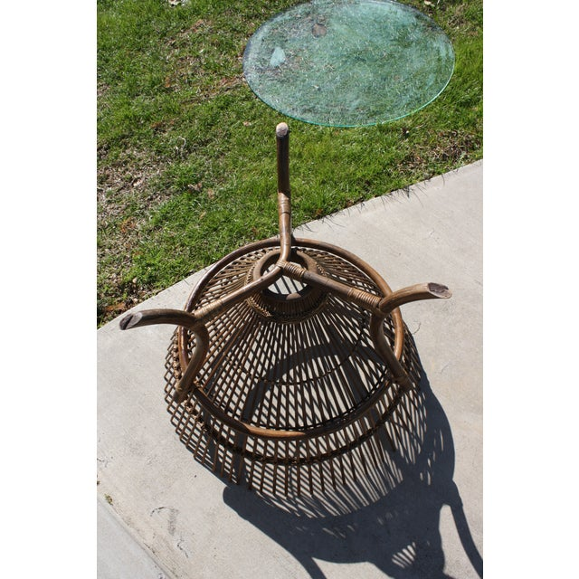 Vintage Franco Albini Style Fish Trap Side Table For Sale - Image 10 of 13