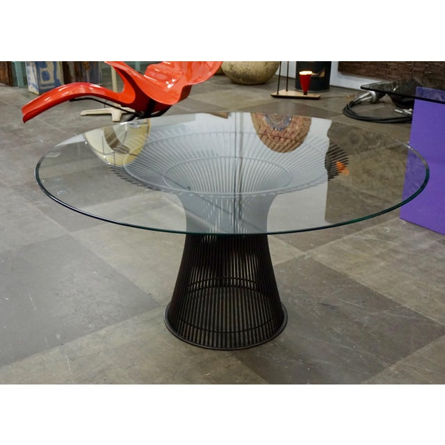1960s Warren Platner Dining Table for Knoll For Sale - Image 5 of 8