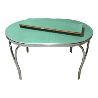 Mid-Century Modern Green Table