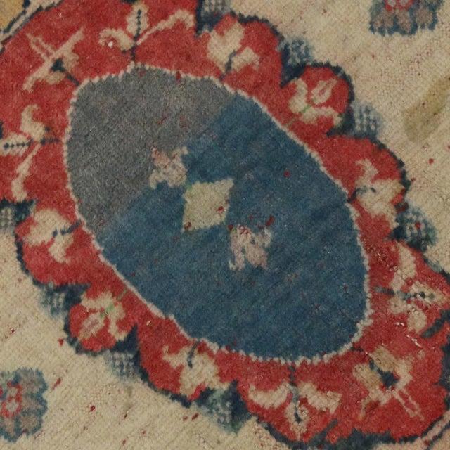 Vintage Yastik Turkish Rug with Modern Style, 2'4 x 3' - Image 4 of 4
