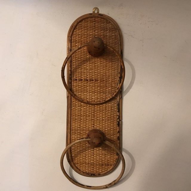 Bamboo Towel Ring For Sale - Image 11 of 11