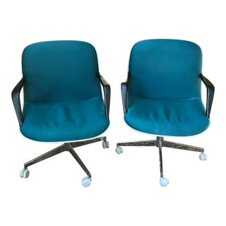 Mid-Century ModerSteelcase Pollock Office Chairs - a Pair For Sale