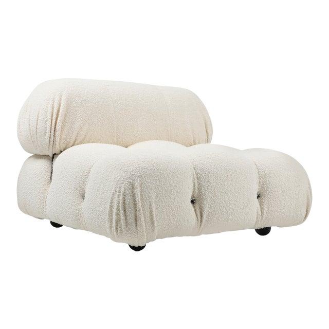 Camaleonda Bouclé Wool Sectional Sofa by Mario Bellini For Sale