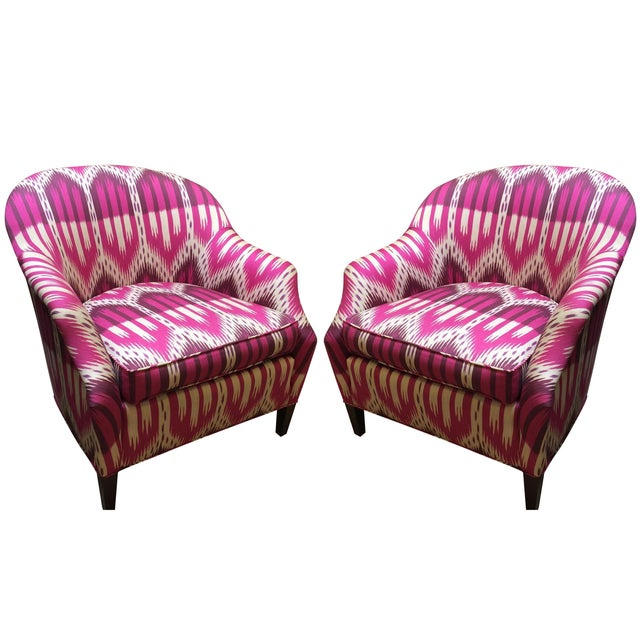 Schumacher Chairs - A Pair - Image 1 of 5