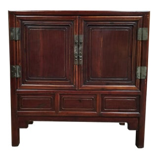 Qing Dynasty Chinese Storage Cabinet For Sale