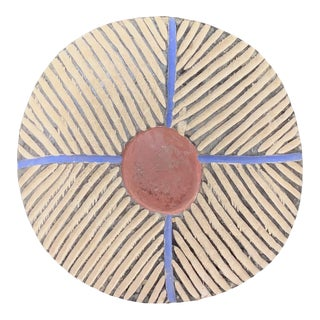 African Art Zulu Round Shield For Sale