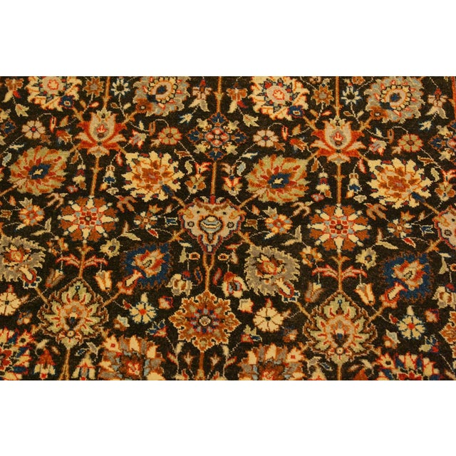 Istanbul Claris Brown/Lt. Tan Turkish Hand-Knotted Rug -4'3 X 6'2 For Sale In New York - Image 6 of 8