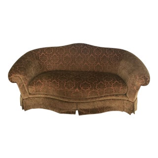 Thomasville Down Chenille Sofa For Sale