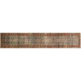 """1920s Persian Melayer Runner - 3'4"""" X 16' For Sale"""