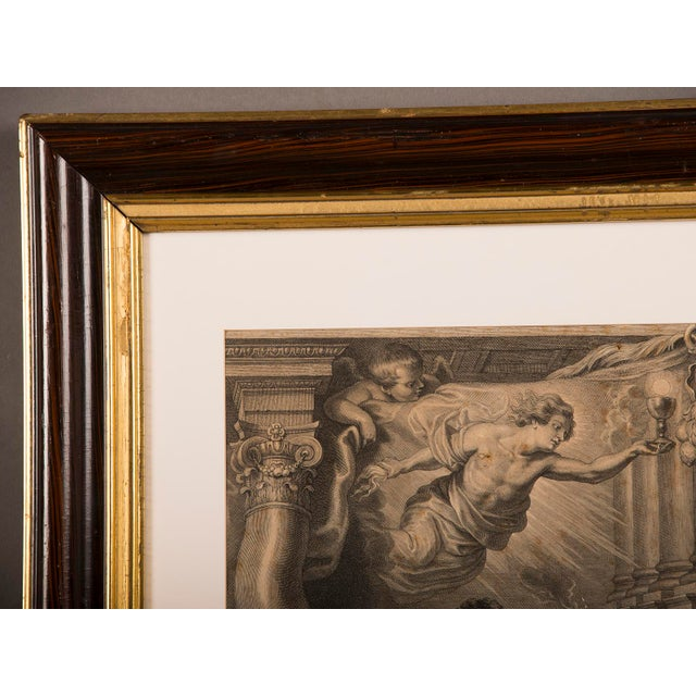 """Baroque """"The Triumph of Eucharistic Truth over Heresy"""", an engraving of the painting by Peter Paul Rubens c.1800. For Sale - Image 3 of 11"""
