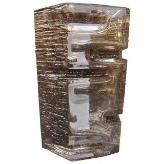 1970s Daum Sculptural Vase by César Baldaccini For Sale
