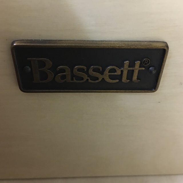Basset Espresso Dresser with Metal Pulls - Image 5 of 10