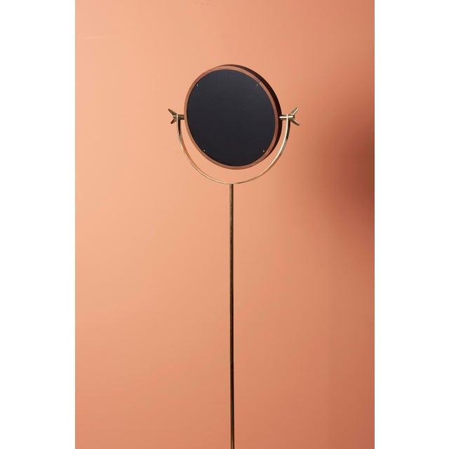 2010s Carl Auböck #4959 Floor Mirror For Sale - Image 5 of 5