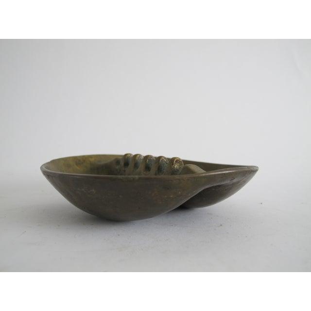 Midcentury Bronze Ashtray For Sale - Image 4 of 6