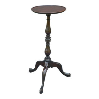 Antique French Mahogany Wine Table