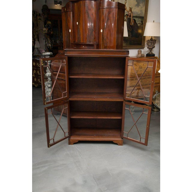 19th Century Dwarf English Bookcase For Sale - Image 4 of 10