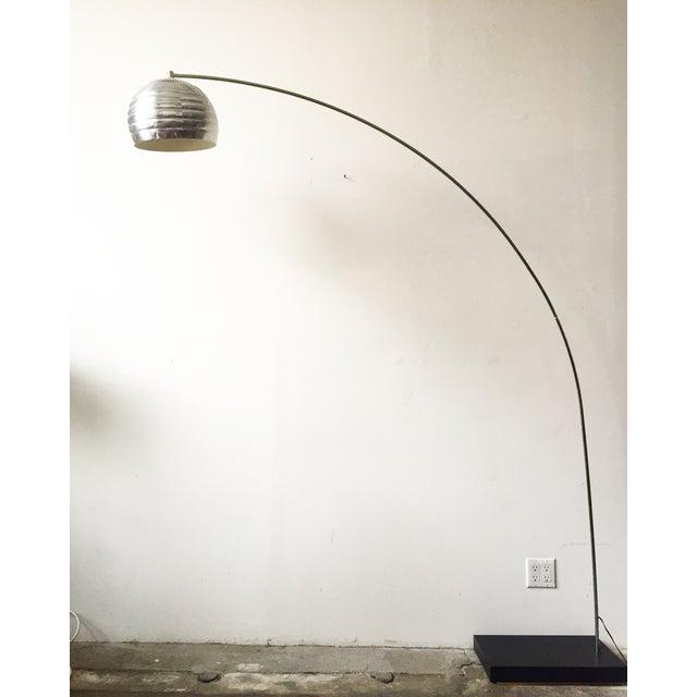 Mid Century Chrome Arc Floor Lamp Chairish