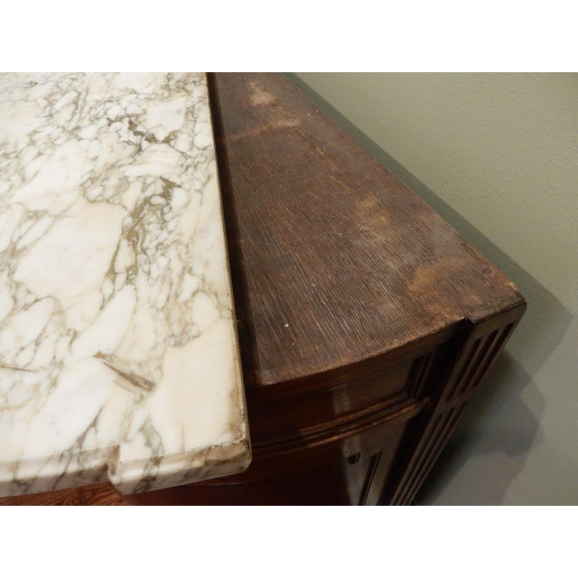 Louis XVI Buffet/Marble Top For Sale In New Orleans - Image 6 of 10