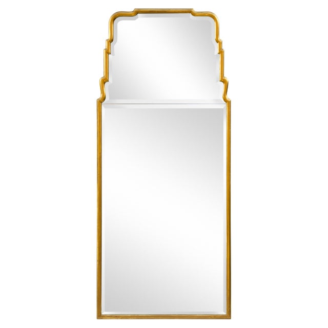 Large Queen Anne Divided Plate Mirror For Sale - Image 10 of 12