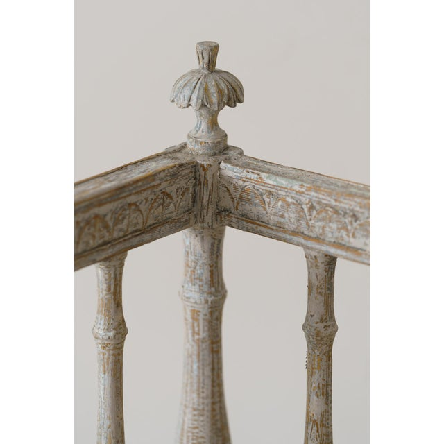 19th Century 19th Century Swedish Gustavian Period Sofa Bench For Sale - Image 5 of 12