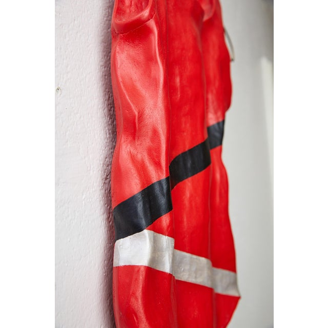 Red Hanging Bathing Suit Wall Sculpture For Sale - Image 8 of 13