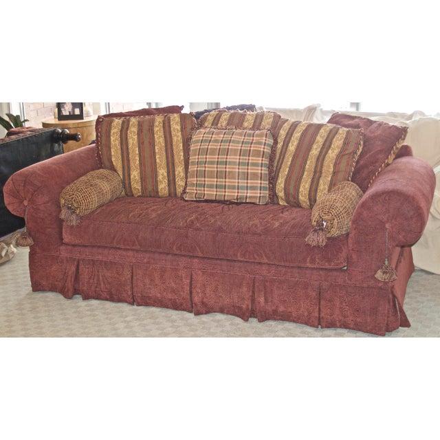Lane Raymond Waites Custom Bolster Sofa For Sale - Image 13 of 13