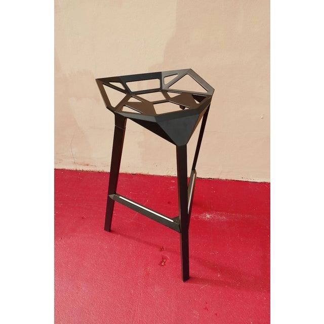 Black Modern Magis Italian Bar Stool For Sale - Image 8 of 11