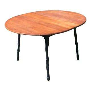 Farmhouse Maple Top Round Table