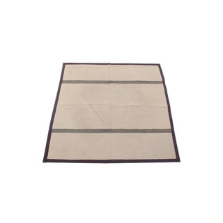 Danish Flatwoven Carpet by Hanne Vedel - 8′ × 9′2″
