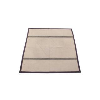 Danish Flatwoven Carpet by Hanne Vedel - 8′ × 9′2″