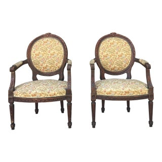 1950s Italian Club Chairs - a Pair For Sale