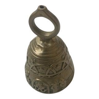 Ornate Heavy Brass Bell