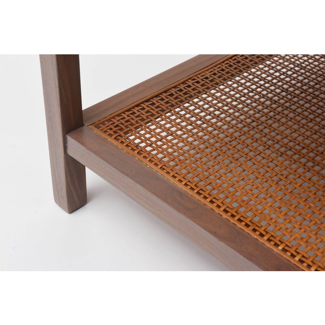 Gray Greige Walnut Side Table by Paul McCobb for Calvin For Sale - Image 8 of 11