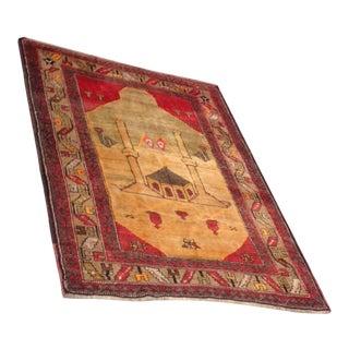 Turkish Anatolian Handmade Rug - 4′9″ × 6′2″ For Sale