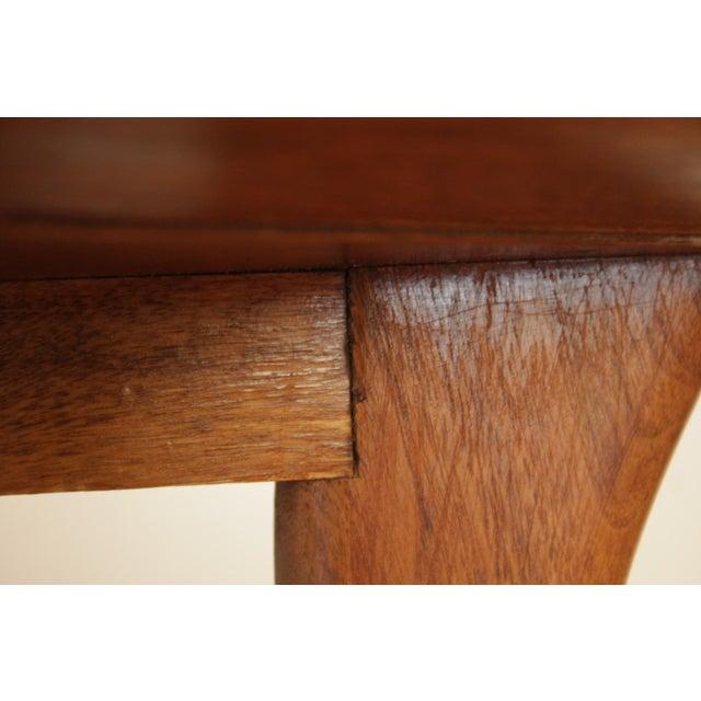 Klismos Sabre Leg Table by T. H. Robsjohn Gibbings for Widdicomb For Sale - Image 10 of 13