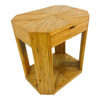 Side Table in the Manner of Gabriella Crespi For Sale