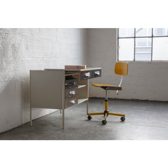 Raymond Loewy Slide Top Desk - Image 8 of 8