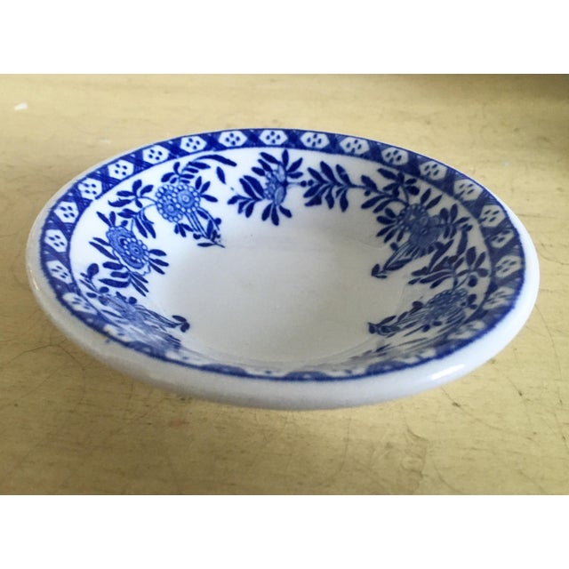 Chinoiserie Blue & White Trinket Dish - Image 4 of 6