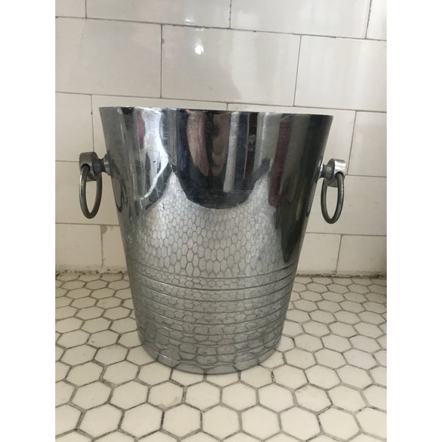 Vintage French Art Deco Andre Leroy Champagne Bucket For Sale - Image 10 of 12