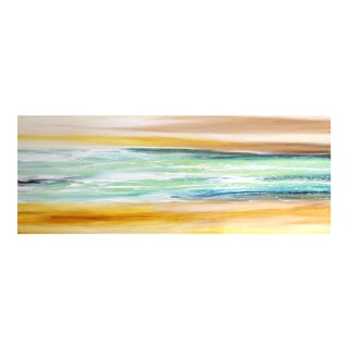 """Seaside"" Original Painting by Bettina Mauel For Sale"